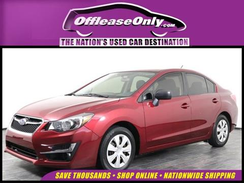 2016 Subaru Impreza for sale in Orlando, FL