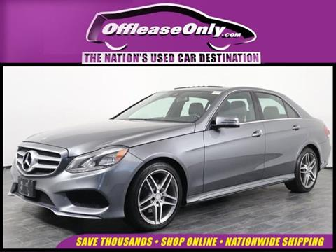 2016 Mercedes-Benz E-Class for sale in Orlando, FL