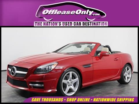 2016 Mercedes-Benz SLK for sale in Orlando, FL