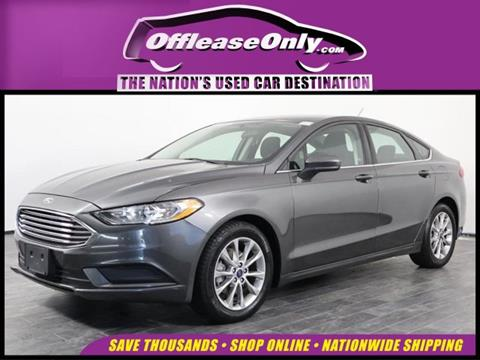 2017 Ford Fusion for sale in Orlando, FL