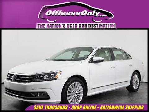 2016 Volkswagen Passat for sale in Orlando, FL
