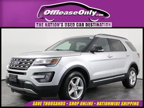 2016 Ford Explorer for sale in Orlando, FL