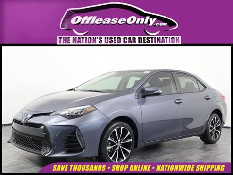 2017 Toyota Corolla for sale in Orlando, FL