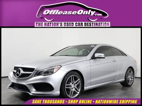 2017 Mercedes-Benz E-Class for sale in Orlando, FL