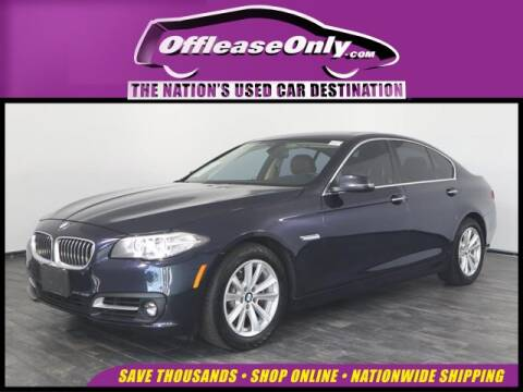 2016 BMW 5 Series 528i xDrive for sale at OffLeaseOnly.com The Nation's Used Car Destination in Orlando FL