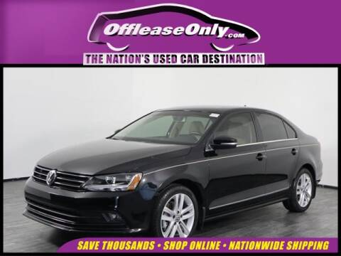 2017 Volkswagen Jetta for sale at OffLeaseOnly.com The Nation's Used Car Destination in Orlando FL
