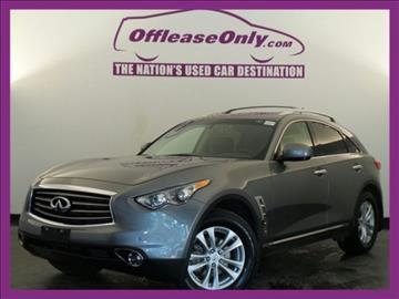 2013 Infiniti FX37 for sale in Orlando, FL