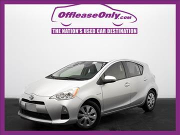 2013 Toyota Prius c for sale in Orlando, FL