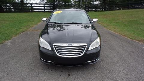 2011 Chrysler 200 Convertible for sale in Nicholasville, KY