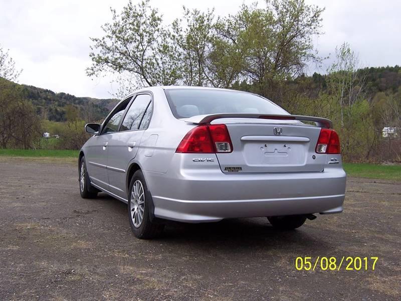 2005 Honda Civic EX Special Edition 4dr Sedan - Bethel VT