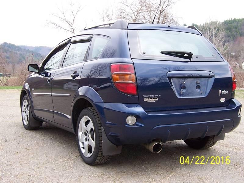 2004 Pontiac Vibe AWD 4dr Wagon - Bethel VT