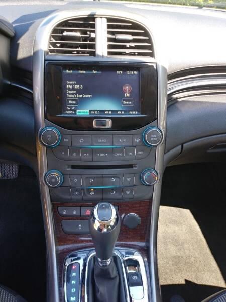 2013 Chevrolet Malibu LT 4dr Sedan w/1LT - Bethel VT