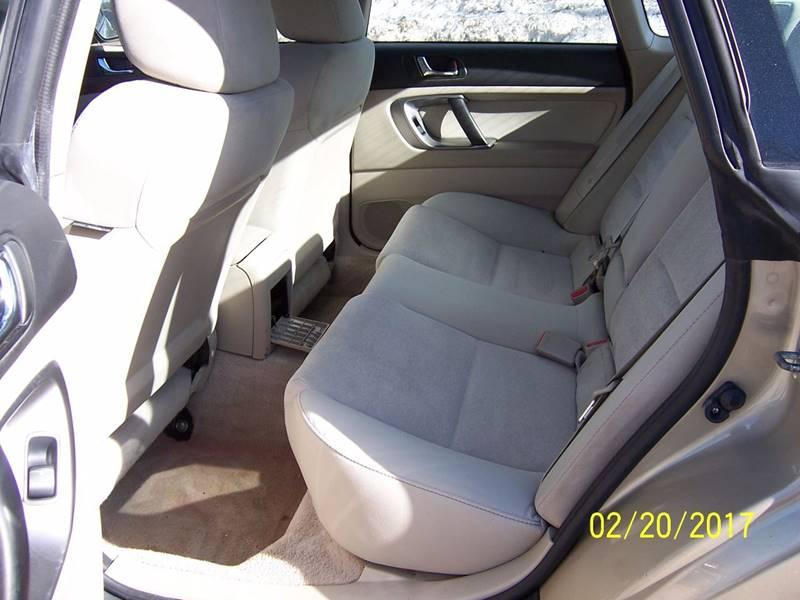 2008 Subaru Legacy AWD 2.5i Special Edition 4dr Sedan 4A - Bethel VT