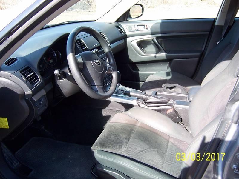 2008 Subaru Outback AWD 4dr Wagon 4A - Bethel VT