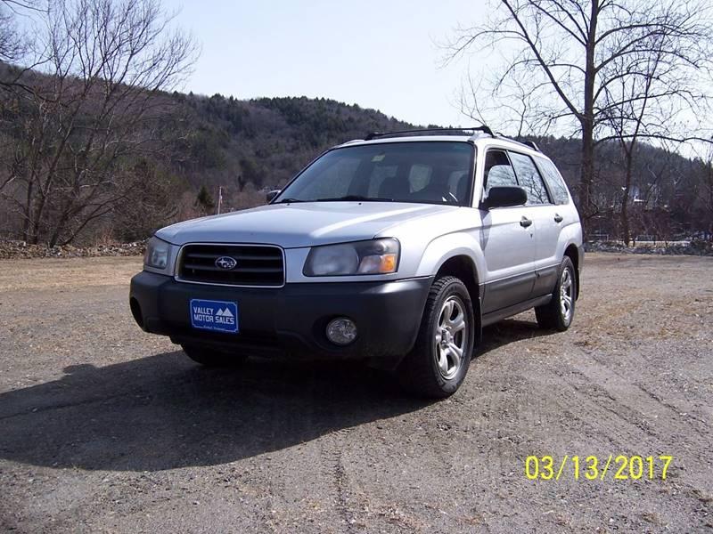 2005 Subaru Forester AWD X 4dr Wagon - Bethel VT