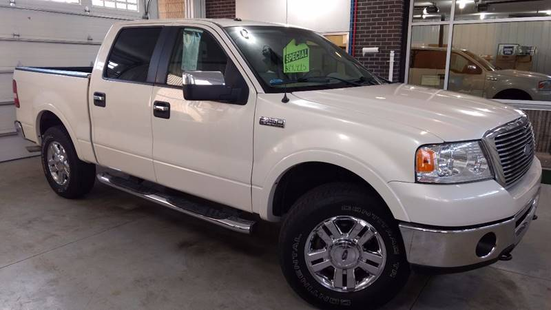 2007 ford f 150 lariat 4dr supercrew 4x4 styleside 6 5 ft sb in escanaba mi prised auto. Black Bedroom Furniture Sets. Home Design Ideas