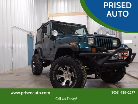 1995 Jeep Wrangler for sale in Gladstone, MI