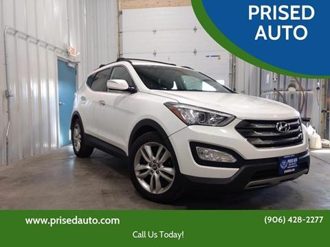 2013 Hyundai Santa Fe Sport for sale in Gladstone, MI