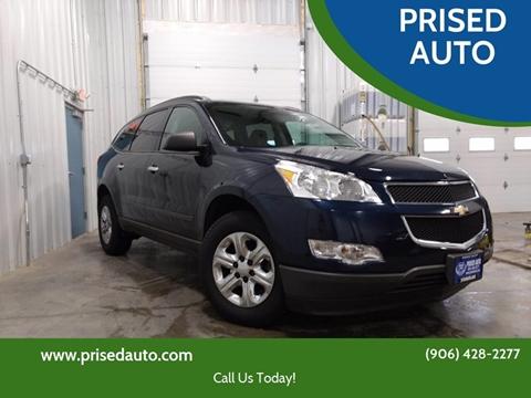 2012 Chevrolet Traverse for sale in Gladstone, MI