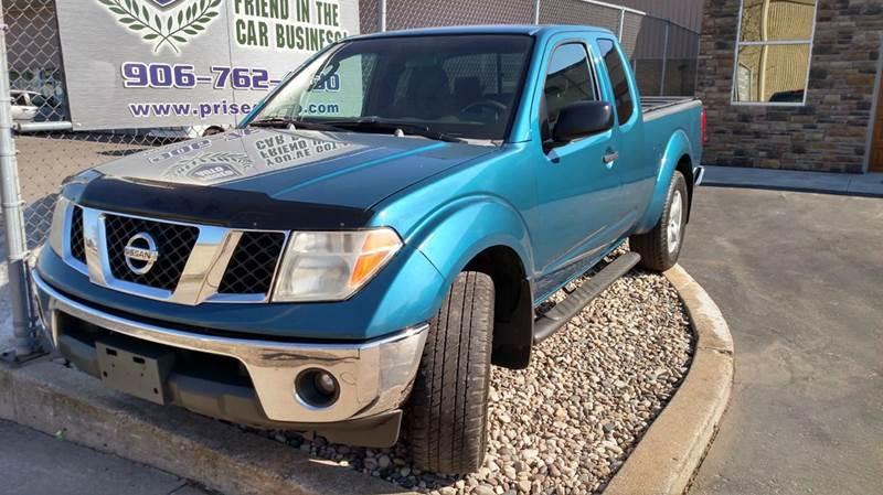 2005 Nissan Frontier 4dr King Cab Le 4wd Sb In Escanaba Mi Prised Auto
