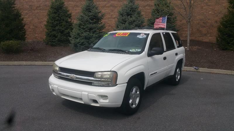 2002 Chevrolet TrailBlazer for sale at Lehigh Valley Autoplex, Inc. in Bethlehem PA