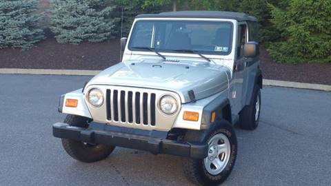 2003 Jeep Wrangler for sale at Lehigh Valley Autoplex, Inc. in Bethlehem PA
