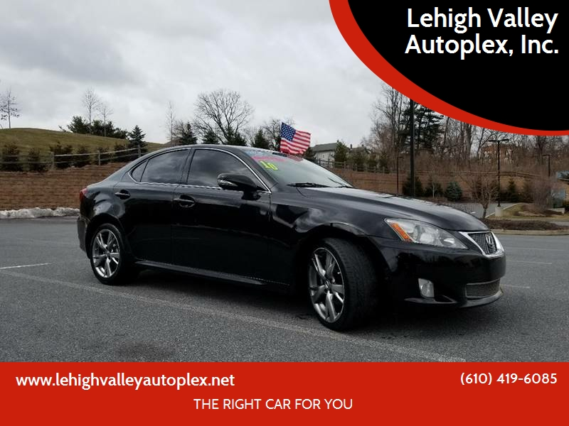 Attractive 2010 Lexus IS 250 For Sale At Lehigh Valley Autoplex, Inc. In Bethlehem PA