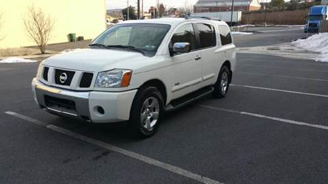 2007 Nissan Armada for sale at Lehigh Valley Autoplex, Inc. in Bethlehem PA