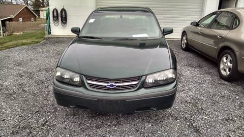 2002 Chevrolet Impala for sale at WARREN'S AUTO SALES in Maryville TN