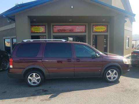 2006 Pontiac Montana SV6 for sale in Garden City, ID