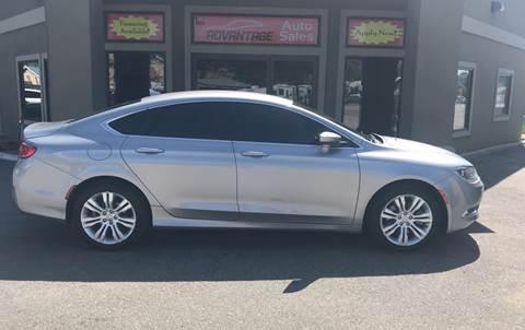 2015 Chrysler 200 for sale in Garden City, ID