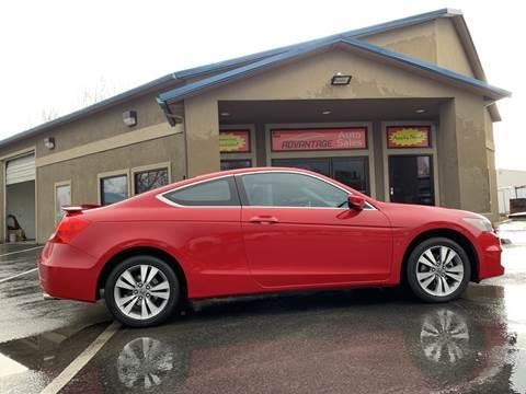 2012 Honda Accord for sale at Advantage Auto Sales in Garden City ID
