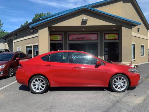 2013 Dodge Dart for sale at Advantage Auto Sales in Garden City ID