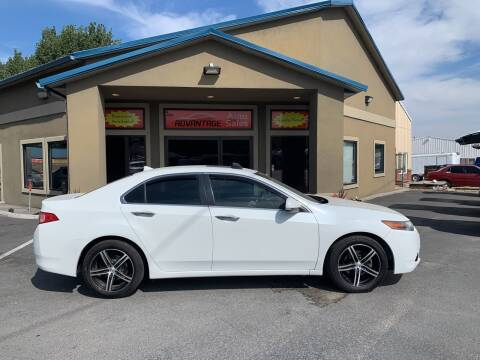 2012 Acura TSX for sale at Advantage Auto Sales in Garden City ID