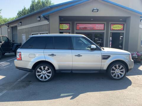 2010 Land Rover Range Rover Sport for sale at Advantage Auto Sales in Garden City ID