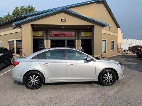 2011 Chevrolet Cruze for sale at Advantage Auto Sales in Garden City ID