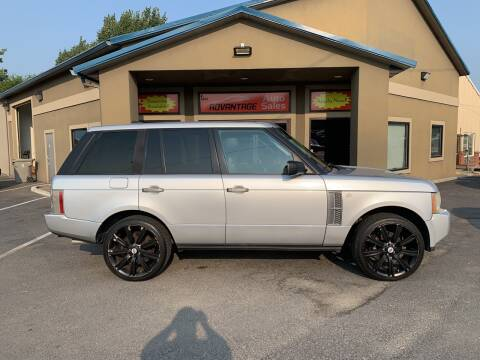 2006 Land Rover Range Rover for sale at Advantage Auto Sales in Garden City ID