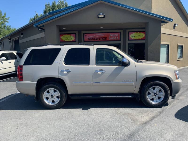 2009 Chevrolet Tahoe for sale at Advantage Auto Sales in Garden City ID