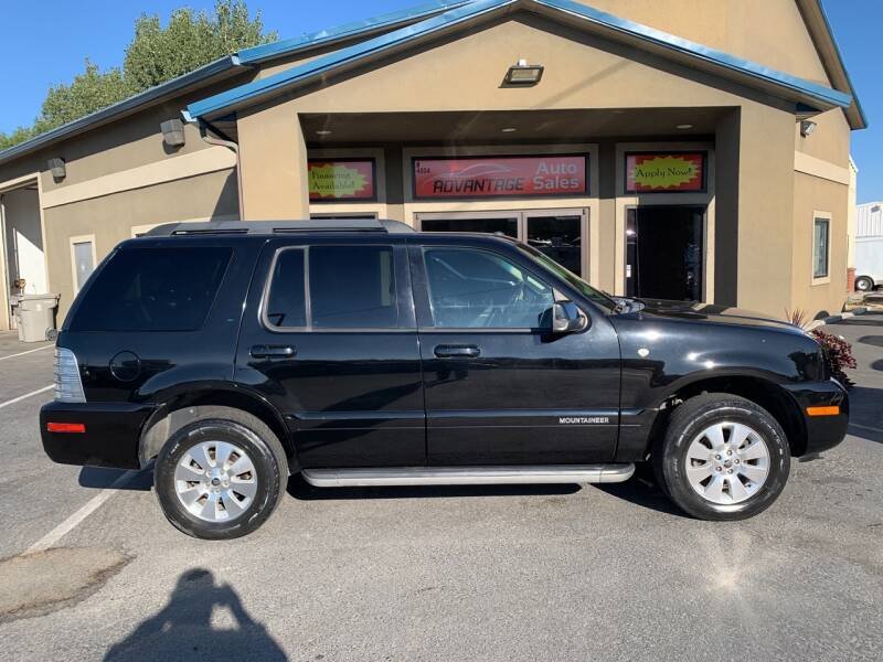 2010 Mercury Mountaineer for sale at Advantage Auto Sales in Garden City ID