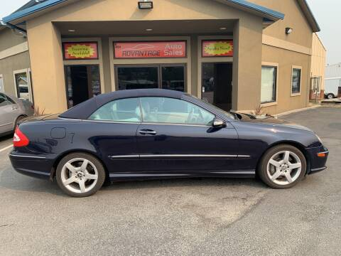 2005 Mercedes-Benz CLK for sale at Advantage Auto Sales in Garden City ID