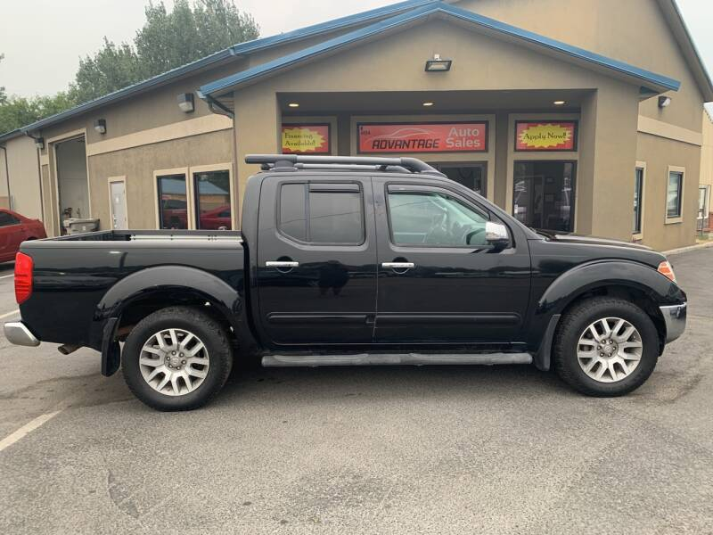 2011 Nissan Frontier for sale at Advantage Auto Sales in Garden City ID