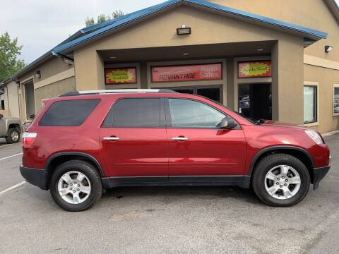 2011 GMC Acadia for sale at Advantage Auto Sales in Garden City ID