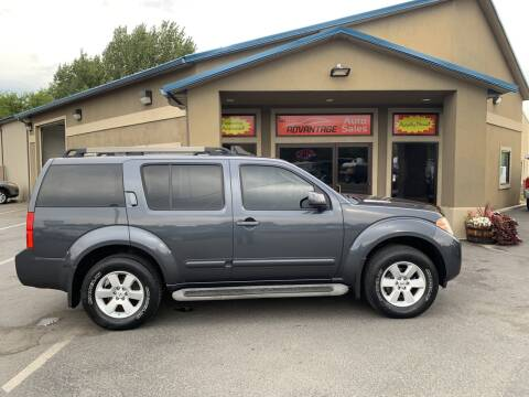 2010 Nissan Pathfinder for sale at Advantage Auto Sales in Garden City ID