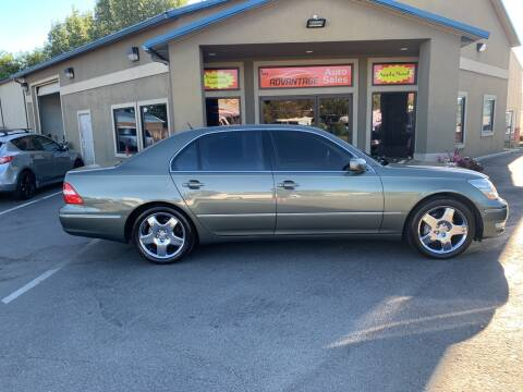 2005 Lexus LS 430 for sale at Advantage Auto Sales in Garden City ID