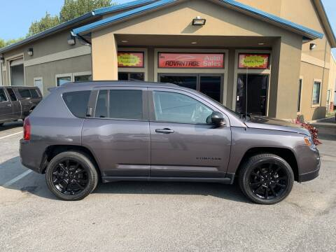 2015 Jeep Compass for sale at Advantage Auto Sales in Garden City ID