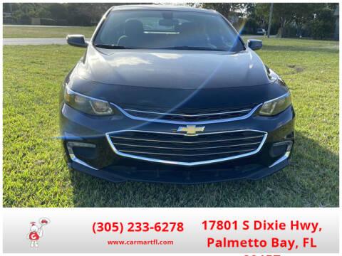 2018 Chevrolet Malibu LT for sale at CarMartfl.com in Palmetto Bay FL