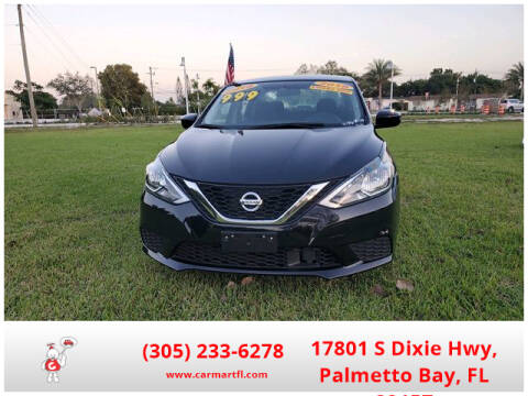 2018 Nissan Sentra for sale at CarMartfl.com in Palmetto Bay FL