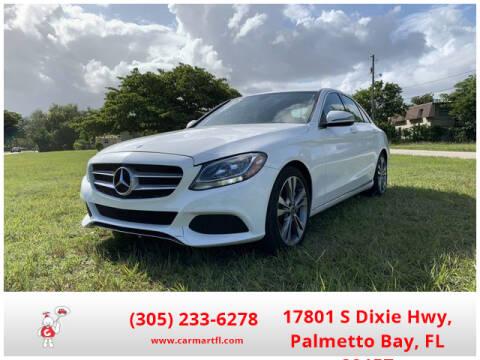 2014 Mercedes-Benz C-Class for sale at CarMartfl.com in Palmetto Bay FL