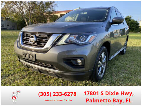 2018 Nissan Pathfinder for sale at CarMartfl.com in Palmetto Bay FL