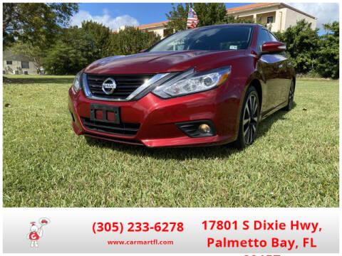 2018 Nissan Altima for sale at CarMartfl.com in Palmetto Bay FL
